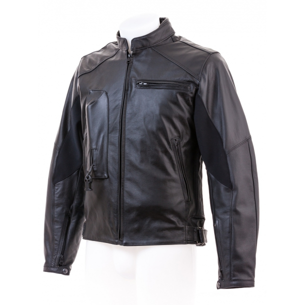 Leather jacket Roadster svart